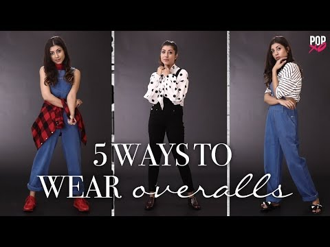 5 Ways To Style Your Overalls | How To Style Dungarees - POPxo Fashion