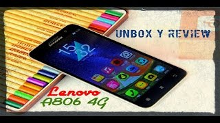 Lenovo Golden Warrior A8 A806 4G , Unbox y análisis completo en Español y HD