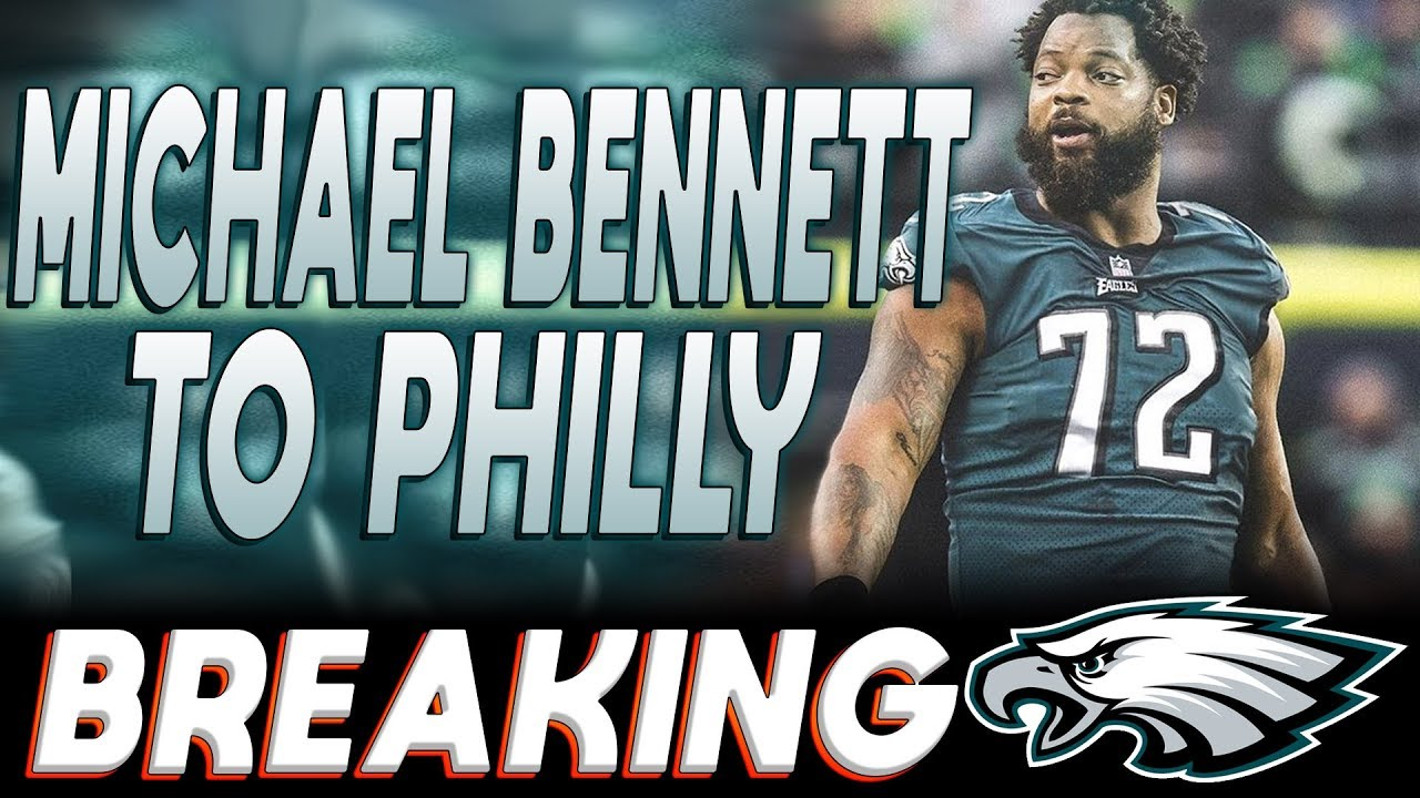 online store c1de7 f8e5e Michael Bennett traded to Eagles from Seahawks! What happens to Vinny  Curry? (NFL 2018 News)
