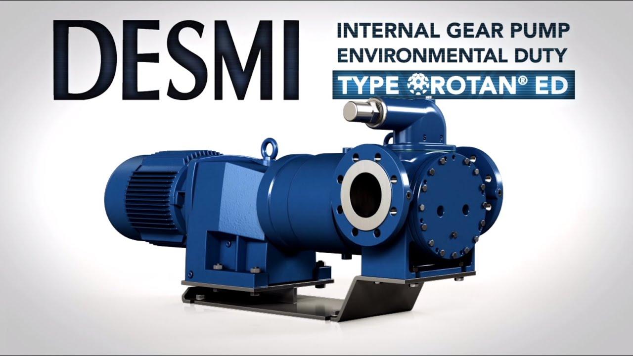 ROTAN ED - Environmental Duty - Internal Gear Pump - YouTube
