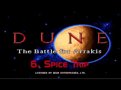 Dune - The Battle for Arrakis (Sega Music) HQ
