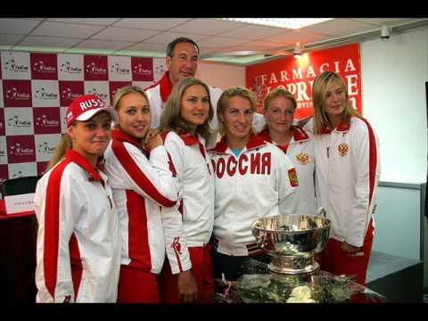 Russian Tennis Players Friends