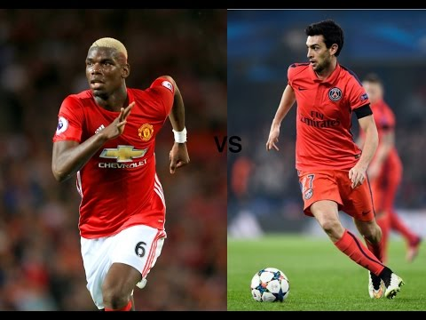 Paul Pogba vs Javier Pastore (Awesome Tricks and Skills!)