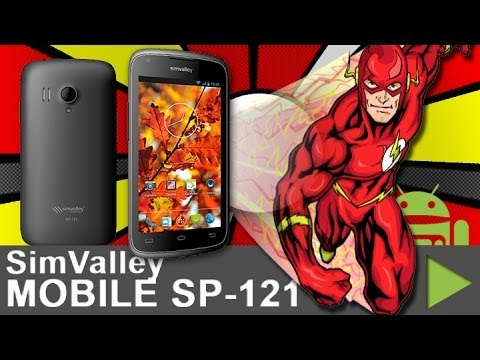 simvalley MOBILE SP-121 Flash unboxing - Ein Video ohne Inhalt! - android tv