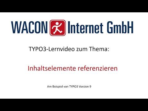 Inhaltselemente in TYPO3 referenzieren