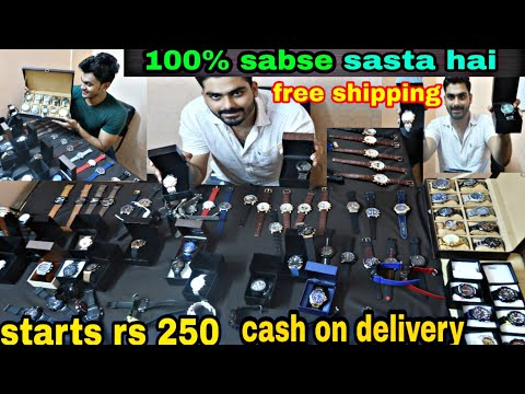 Cheapest Watches 7a Qaulity,  Only 250,trending Collection  2019