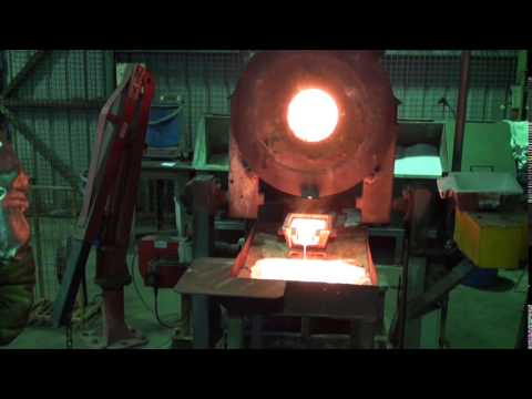 Unity Mining - Henty Gold Mine - Process Plant - Gold Smelting