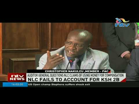Auditor general questions NLC claims of using money for compensation