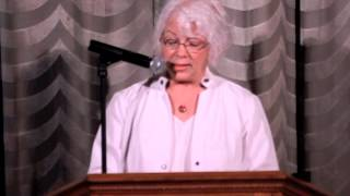 "Carol Allis reading ""Mother's Hippocratic Oath"""