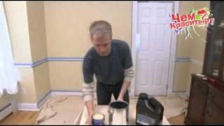 декоративная окраска под старину и техника стрие(http://www.chemkrasit.ru/ В данном ролике показано как можно своими руками красиво отделать стены под старину, а также..., 2010-12-11T14:08:05.000Z)