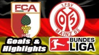 Augsburg vs Mainz - 2017-18 Bundesliga Highlights