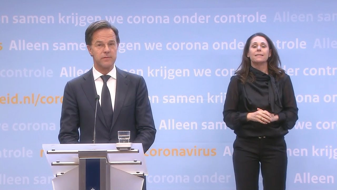 15 April 2020: Inleidend Statement Persconferentie