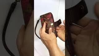 광주 폰케이스 수제 지퍼 지갑 핸드폰케이스