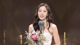"""Seo Ji Hye, 서지혜, 특별연기상 수상 소감! """"욕지혜 별명 영광"""" @2016 SAF 연기대상 1부 20161231"""