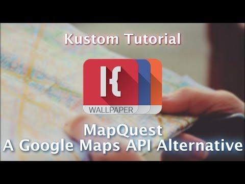 Kustom Tutorial - Mapquest - A Google Maps API Alternative