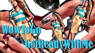 VLOG#8: Get Ready With Me: МАНИКЮР и ПЕДИКЮР MINX , укладка, макияж. Салон на дому  WowToGo
