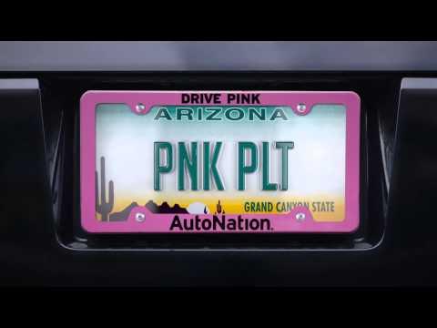 DRIVE PINK – VANITY PLATES