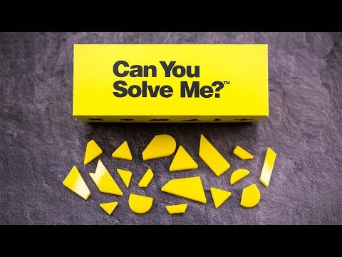 Can You Solve Me? - A Tangram Challenge!