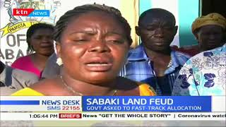 Sabaki squatters threaten to invade over 900 acre agricultural land if the gov't won't resettle them