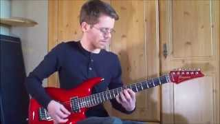 Instrumental Guitar Song #8 by Ryan Smith (With Rock Ballad In C Dorian by guitarbackingtracks4