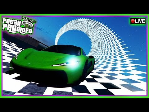 GTA Online Modded Custom Stunt Races - PS4 Modded Custom Race Playlist (GTAV Race Links)