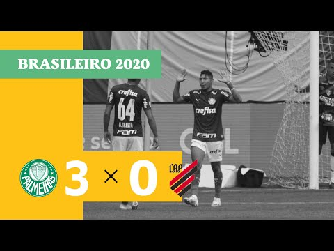 Palmeiras Atletico-PR Goals And Highlights
