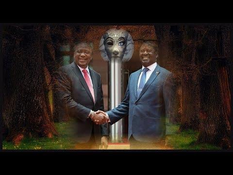 Startling Top Secrets Behind Raila Odinga -Uhuru Kenyatta Mysterious Handshake