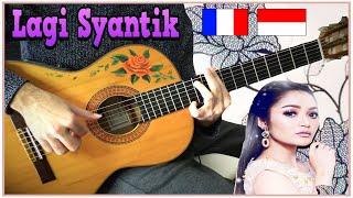 Lagi Syantik (Siti Badriah) 🇮🇩 meets 🇫🇷 French flamenco gipsy guitarist [MANTAP GITAR COVER]