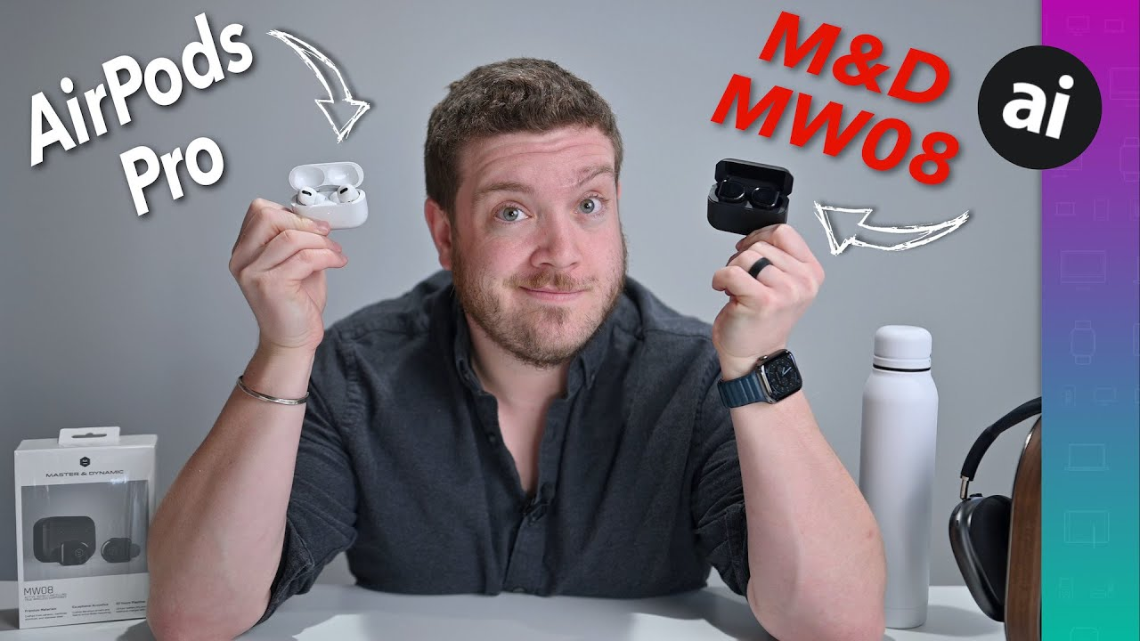Compared: Apple AirPods Pro versus Master & Dynamic MW08 wireless earbuds