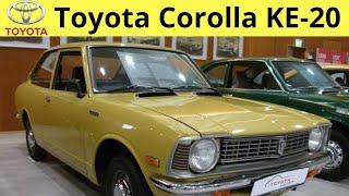 Toyota Corolla | KE-20 | 1970 to 1974 | Second Generation