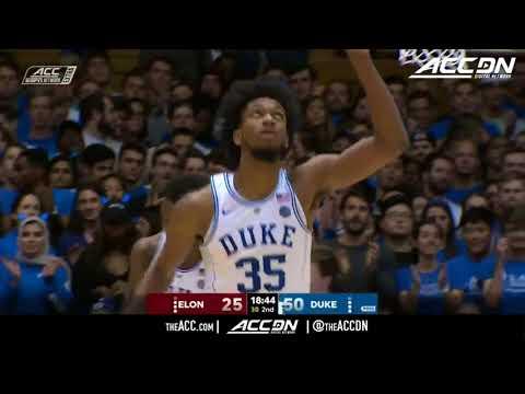 Elon vs Duke College Basketball Condensed Game 2017