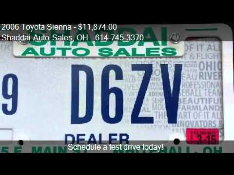 2006 Toyota Sienna XLE Limited DVD for sale in Whitehall, OH