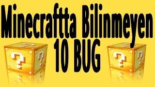 Minecraftta Bilinmeyen 10 Bug (Oyun Hatası) [1.8-1.8.8 Ve 1.9 ]