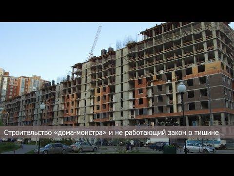 """Строительство """"дома-монстра"""" и не работающий закон о тишине"""