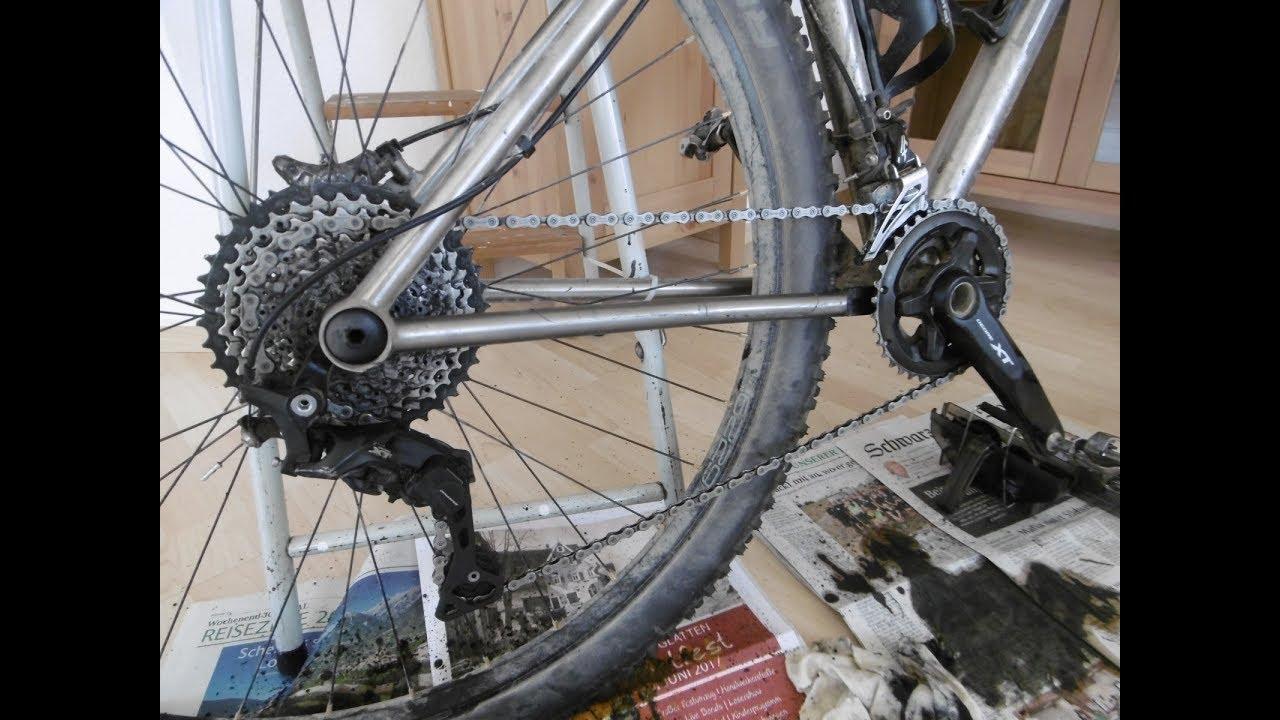 Fahrrad Kette Reinigen : fahrradkette reinigen anleitung und tipps zur kettenreinigung youtube ~ Watch28wear.com Haus und Dekorationen