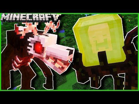Minecraft - FISH'S UNDEAD RISING MOD | ADD NEW & TERRIFYING MOBS TO YOUR WORLD