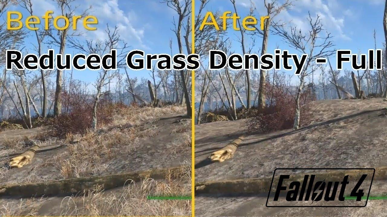 [PS4版fallout4]フォールアウト4 Mod Reduced Grass Density - Full
