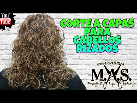 Como Hacer Un Corte En Capas Para Cabellos Rizados Haircut Layers For Curly Hair Tutorial Paso