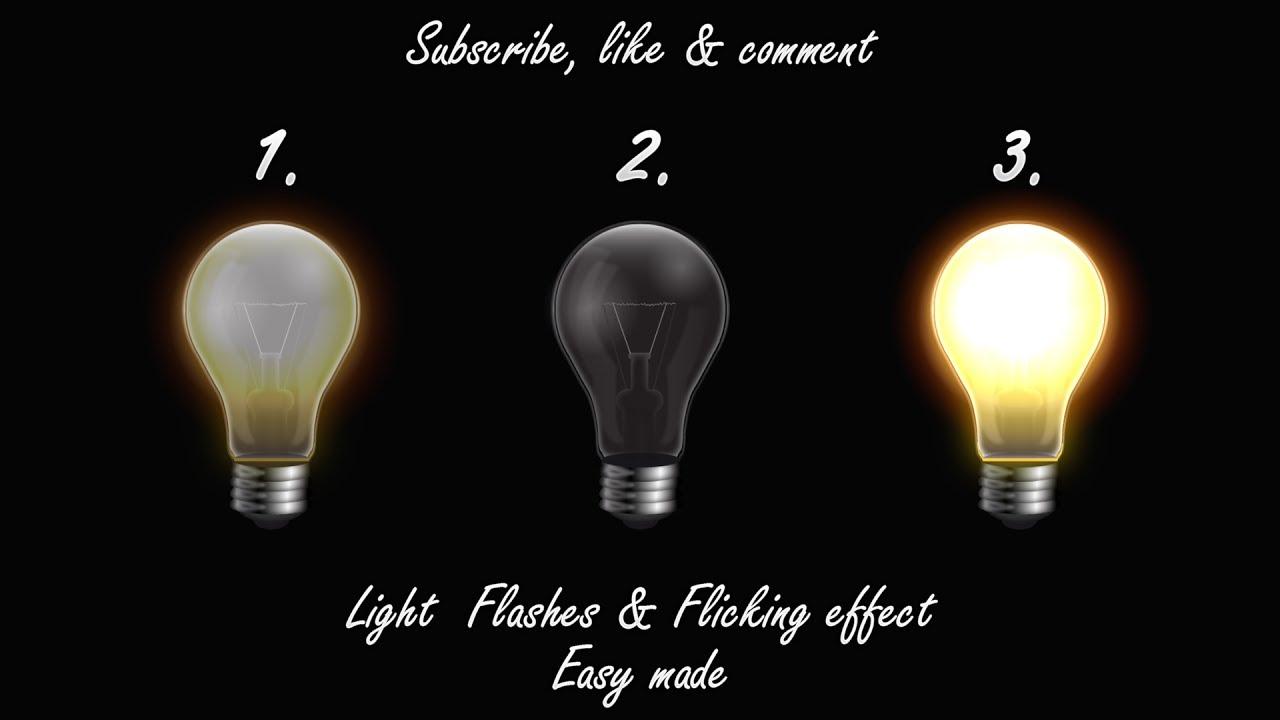 Flickering Light Bulbs