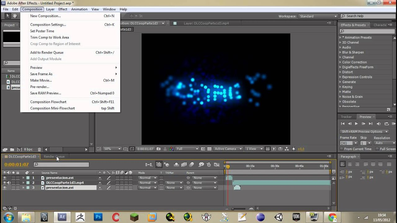 how to delete audio after effects