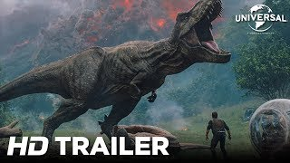 Jurassic World: Reino Ameaçado - Trailer Internacional 1 (Universal Pictures) HD