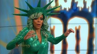Wendy Williams Faints on Live TV During Halloween Episode