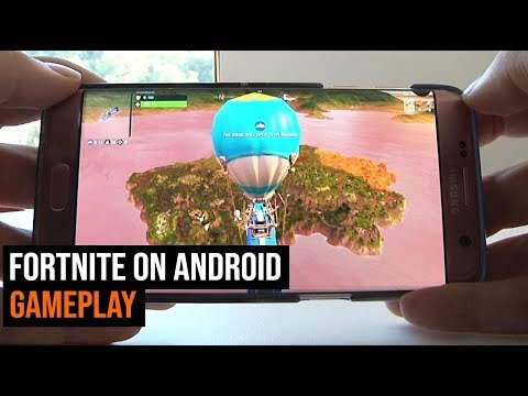 Fortnite on Android Gameplay