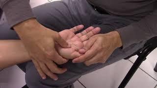 Inchada polegar do na veia causas de articulação