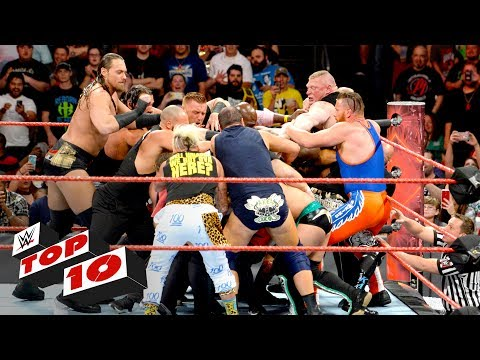 Thumbnail: Top 10 Raw moments: WWE Top 10, June 12, 2017