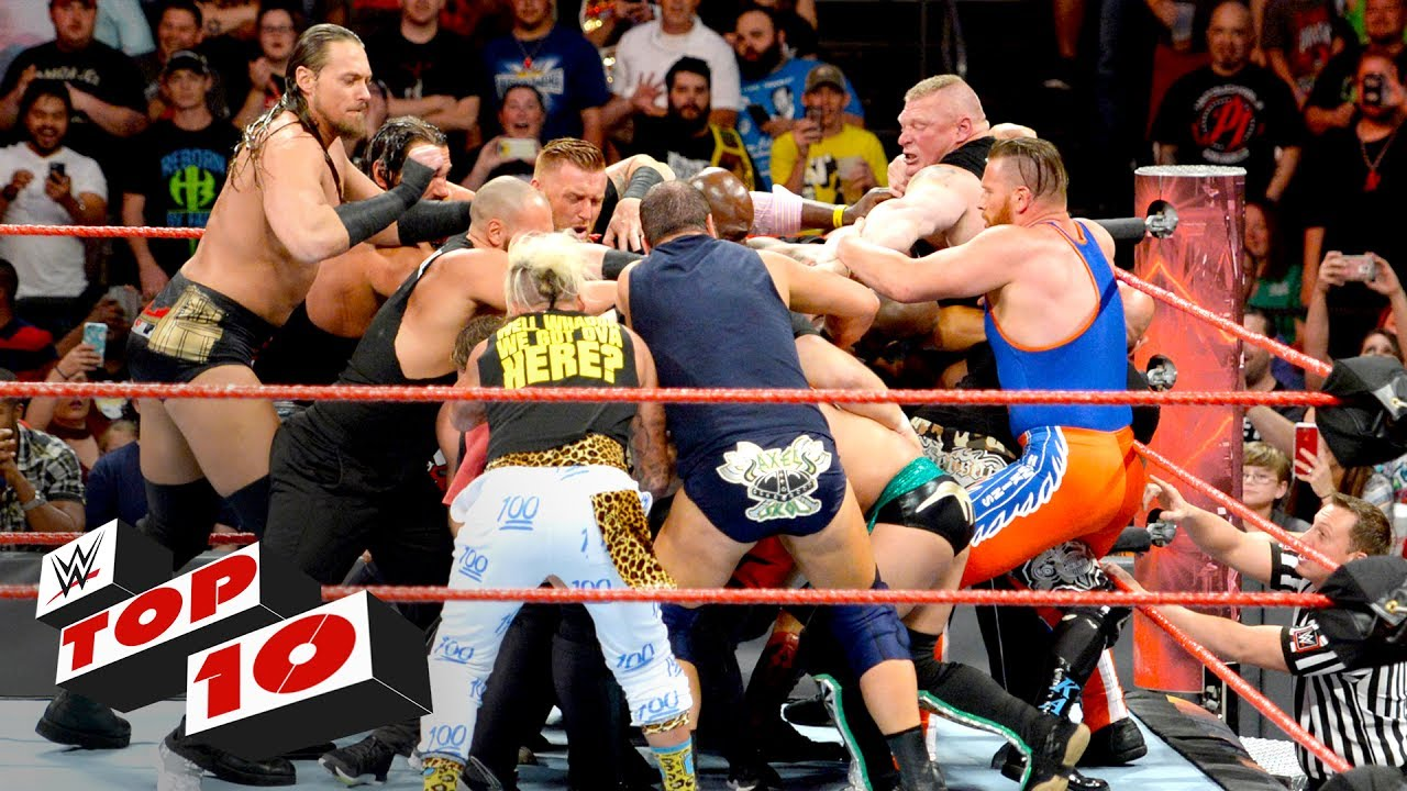 Top 10 Raw moments: WWE Top 10, June 12, 2017 #1