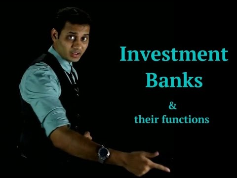 Investment bank and their functions CA Final SFM & CA IPCC FM
