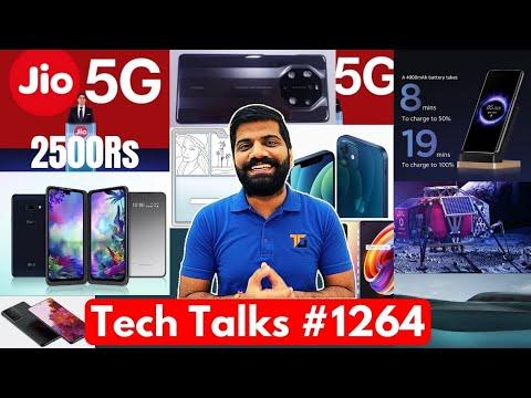 Tech Talks #1264 – 2500Rs 5G Phone, James Bond Boat, 4G on Moon, Xiaomi 80W Wireless, Galaxy S21
