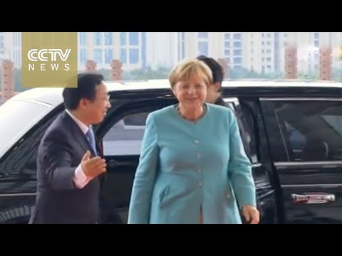 World leaders arrive at Hangzhou International Expo Center