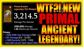 WTF? Primal Ancient Legendary Items?! Diablo 3 Patch 2.5 PTR Preview Gameplay